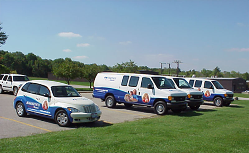 Kinetico Fleet Graphics